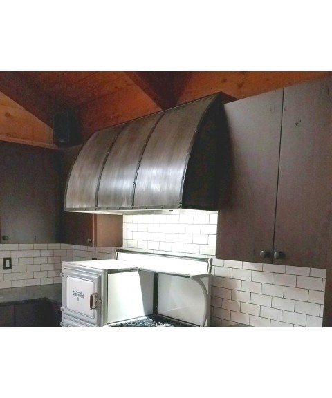 Barrel Range Hood - other metals