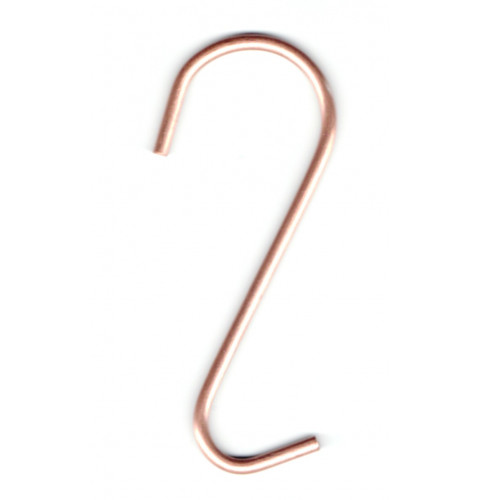 Copper Utensil Pot Rack Hooks (set of 4)