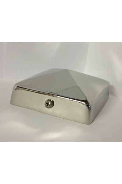 (5-5/8 inch) Nominal 6x6 Stainless Steel Pyramid ...