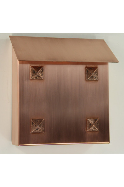 Copper Mailbox - Craftsman Design