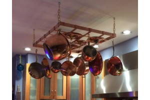 How to Hang a Pot Rack