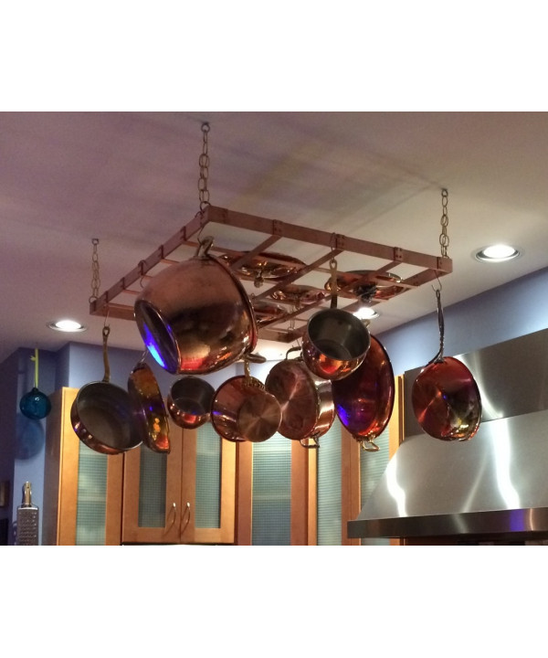 Professional Grade Hanging Pot Rack - 20 x 30