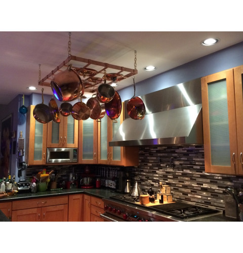 Professional Grade Hanging Pot Rack - 30 x 40