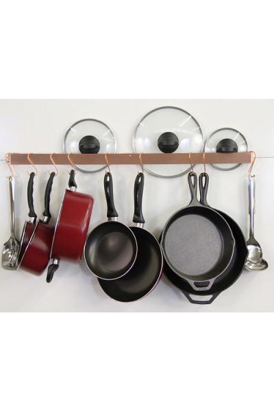 Wall Mounted Space Saver Pot Rack - 2 size options
