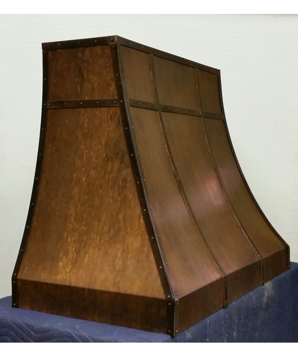 Crescent Copper Range Hood
