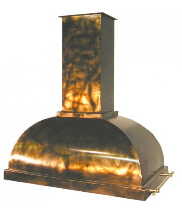 Dome Copper Range Hood