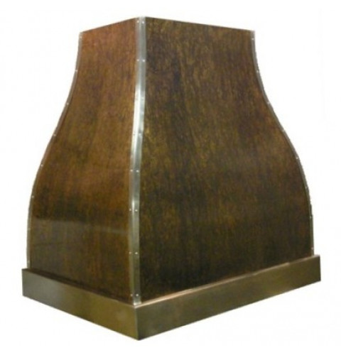 French Bell Copper Range Hood