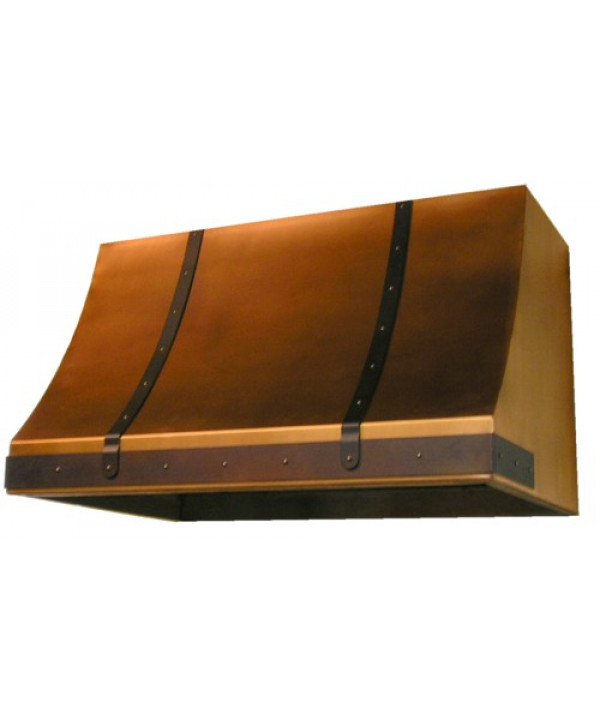 French Country Copper Range Hood