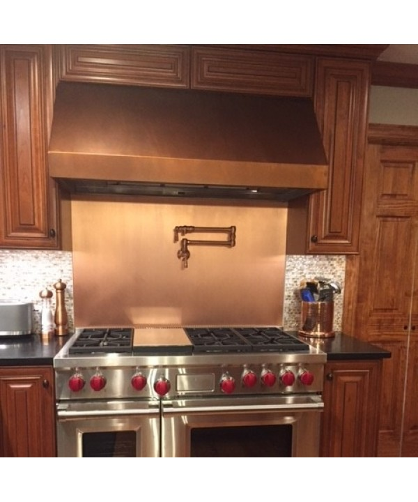 Under Cabinet Copper Range Hood