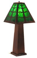 Copper table lamp