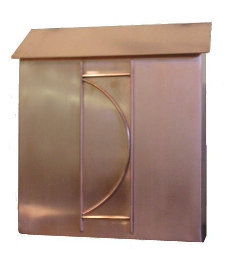 Copper Wall Mount Mail Box