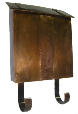 Copper Mailbox Craftsman Style Made In Usa