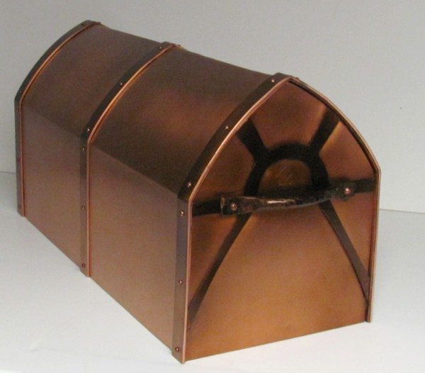 Copper Mailbox Post Mounted Made In Usa