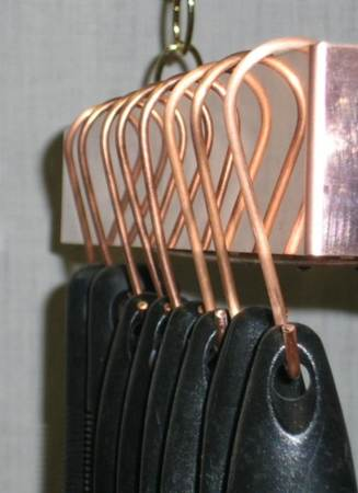 Pot Rack Hooks Inline Copper Brass Amp Stainless Steel