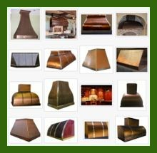 Copper Range Hood Gallery
