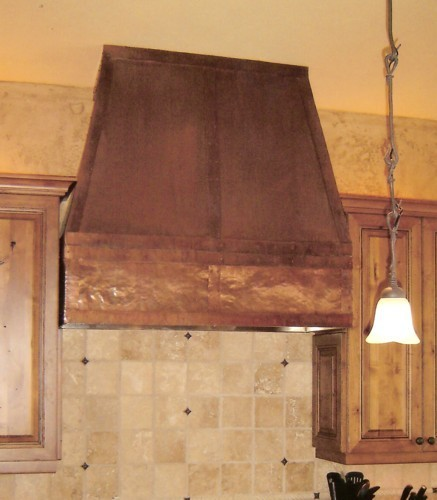 Arts Amp Crafts Copper Range Hood Handcrafted In Usa By