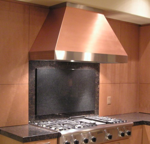 Copper Range Hoods Image Gallery 2 - Handmade in USA!