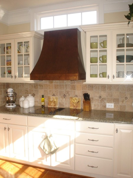 Crescent Copper Range Hood Handcrafted In Usa By The