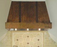 Copper Range Hood French Country