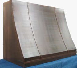 Copper range hood, Made in America
