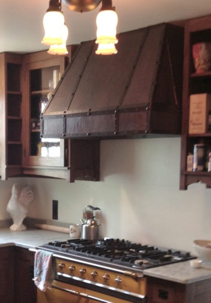 Arts Amp Crafts Copper Range Hood Handcrafted In Usa By The Metal Peddler